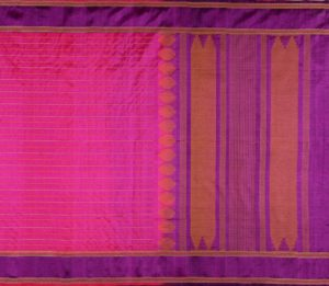 Kanchi Silkcotton in Magenta