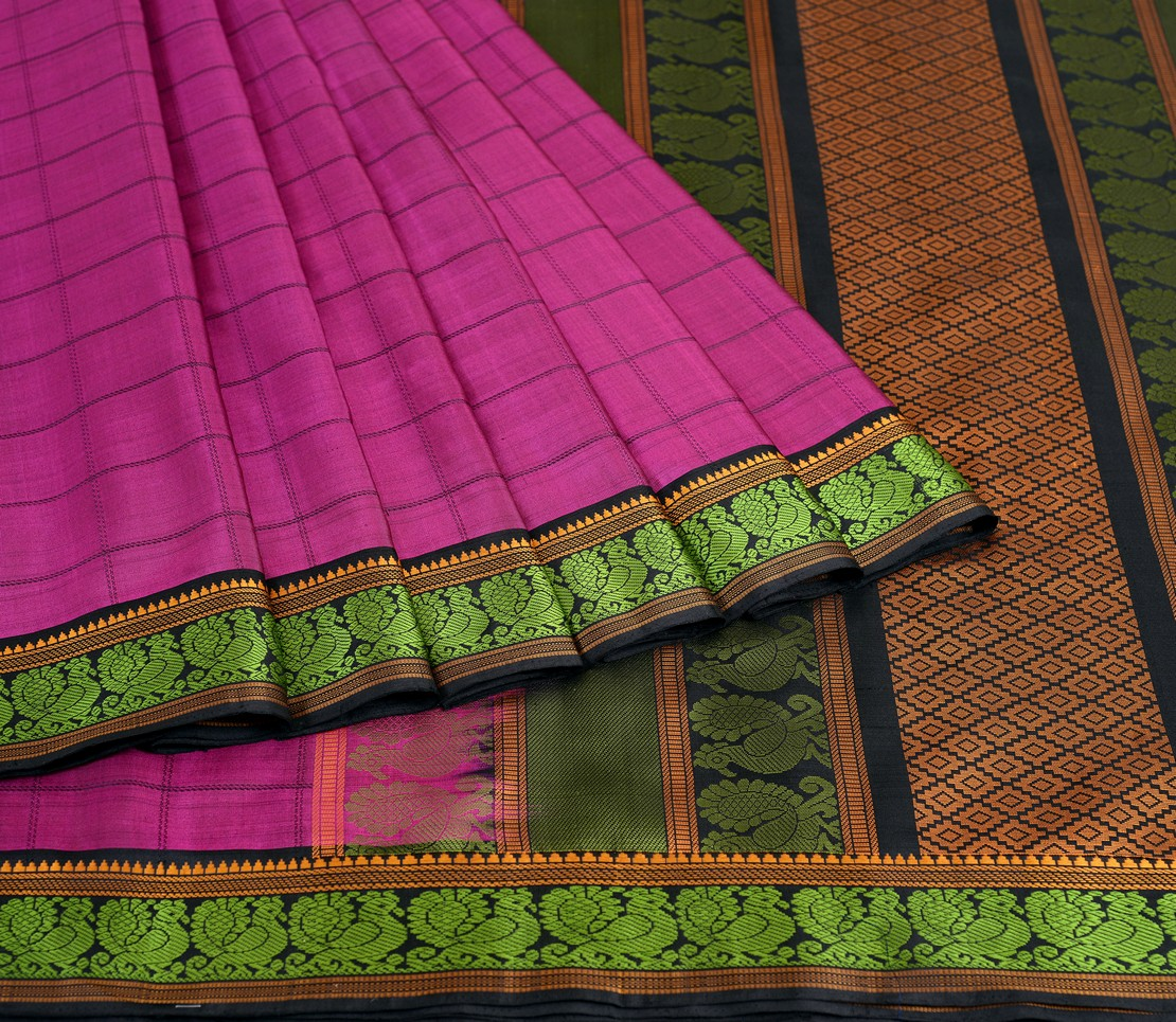elegant-kanjivaram-soft-silk-saree-weavemaya-bangalore-India-Maya-purple-2712012-4