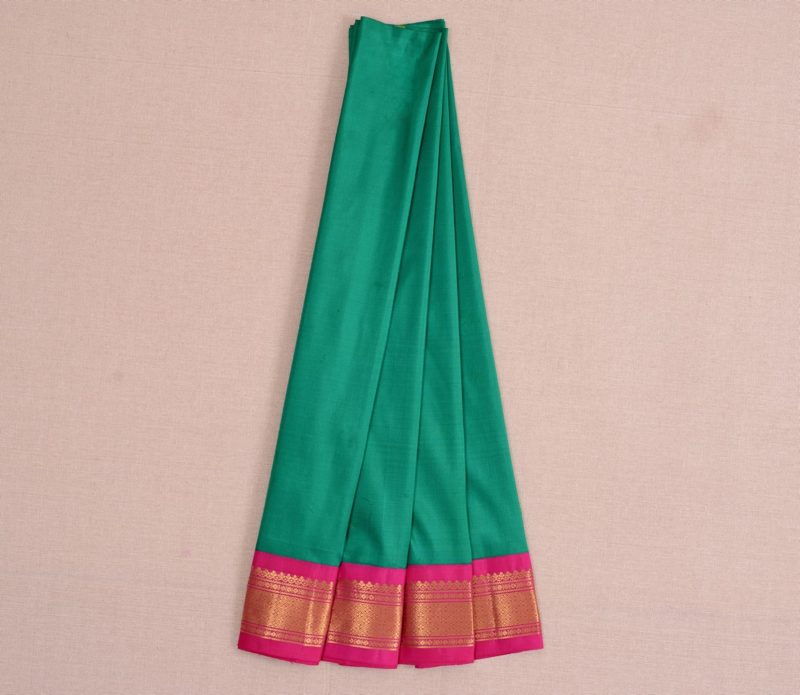 Silk Pavadai in Ramar Green