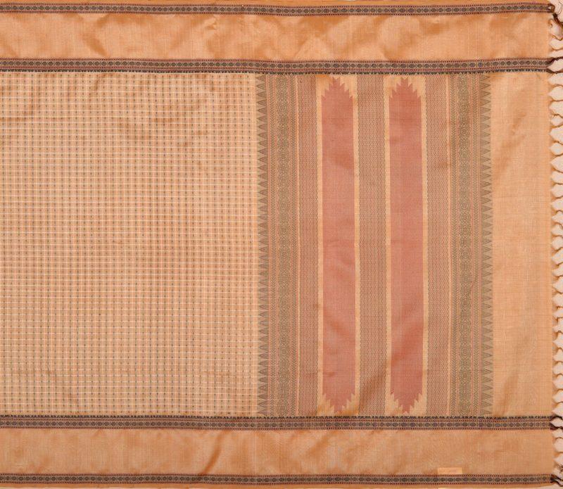 Kanchi Silkcotton Saree Beige
