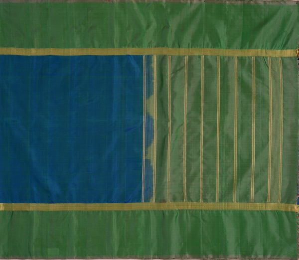 simple-kanjivaram-soft-silk-saree-weavemaya-bangalore-India-Maya-peacock-blue-1202011-1