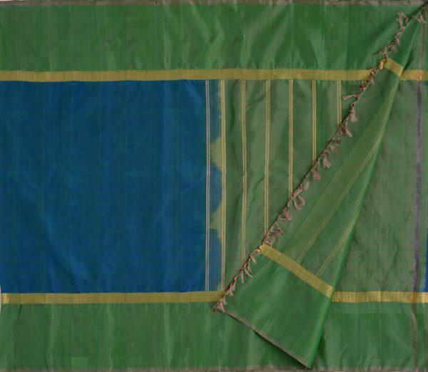 simple-kanjivaram-soft-silk-saree-weavemaya-bangalore-India-Maya-peacock-blue-1202011-2