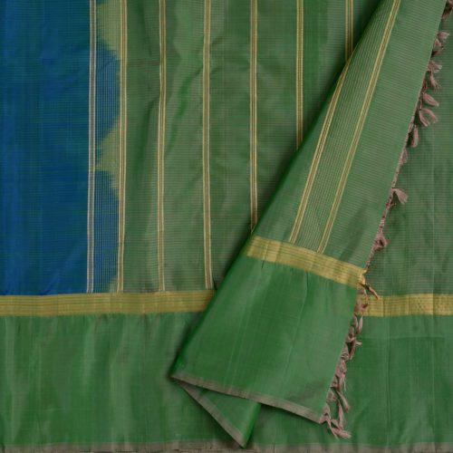 simple-kanjivaram-soft-silk-saree-weavemaya-bangalore-India-Maya-peacock-blue-1202011-3
