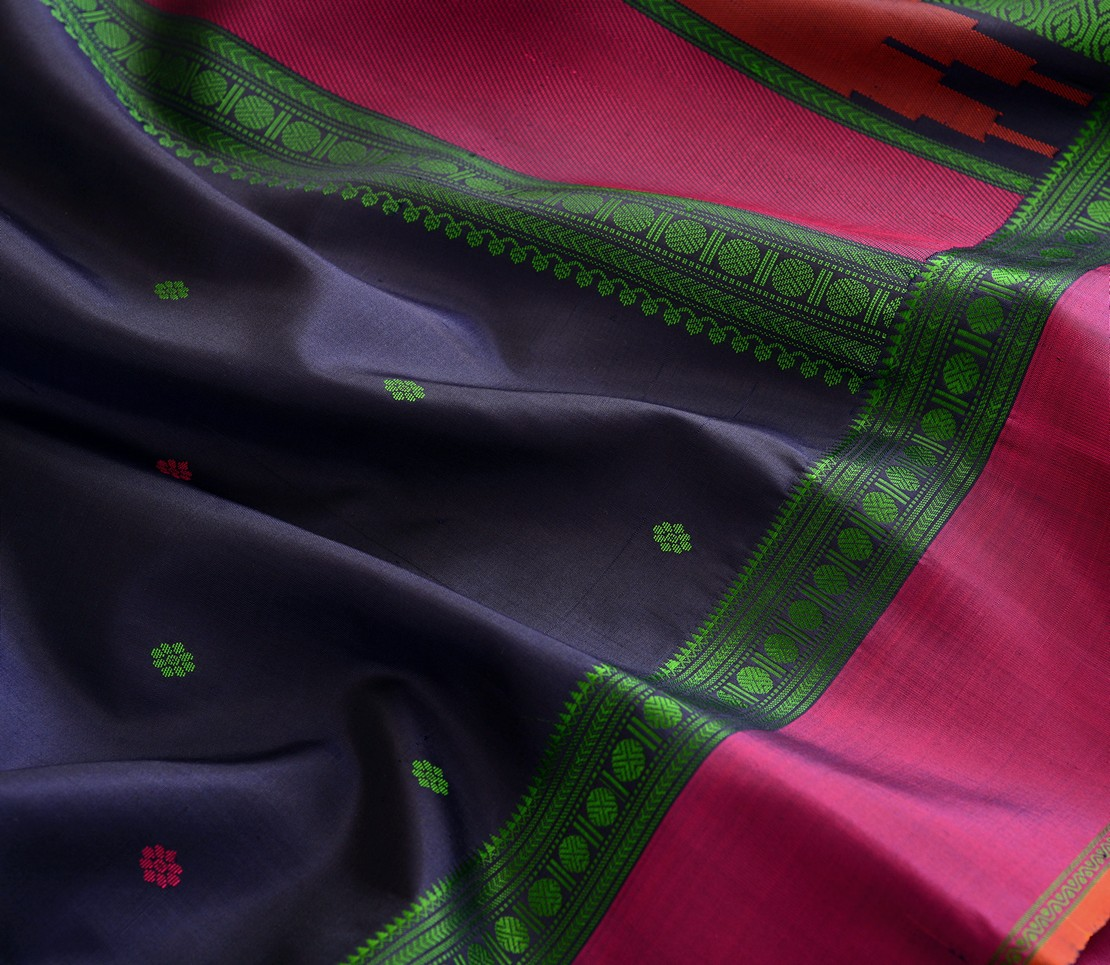softsilk-threadwork-kanjivaram-weavemaya-bangalore-India-Maya-navy-blue-1202047-3