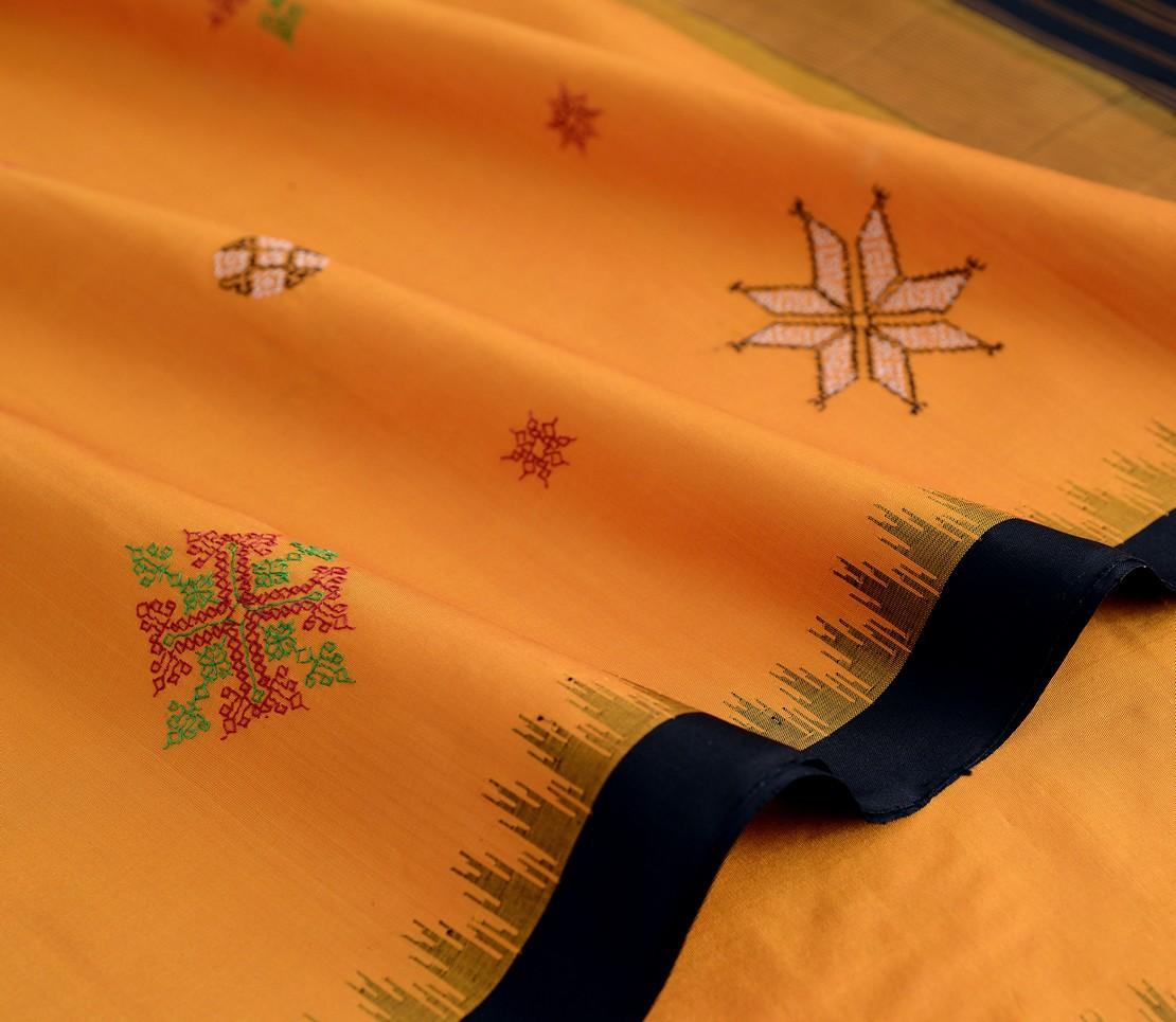exquisite-kanjivaram-silk-saree-kasuti-weavemaya-bangalore-India-Maya-mustard-2632009-4