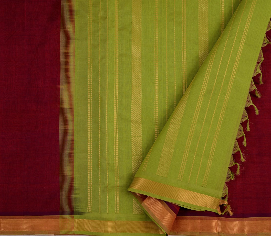 elegant-lightweight-kanchi-silkcotton-saree-weavemaya-bangalore-India-Maya-8292040-3