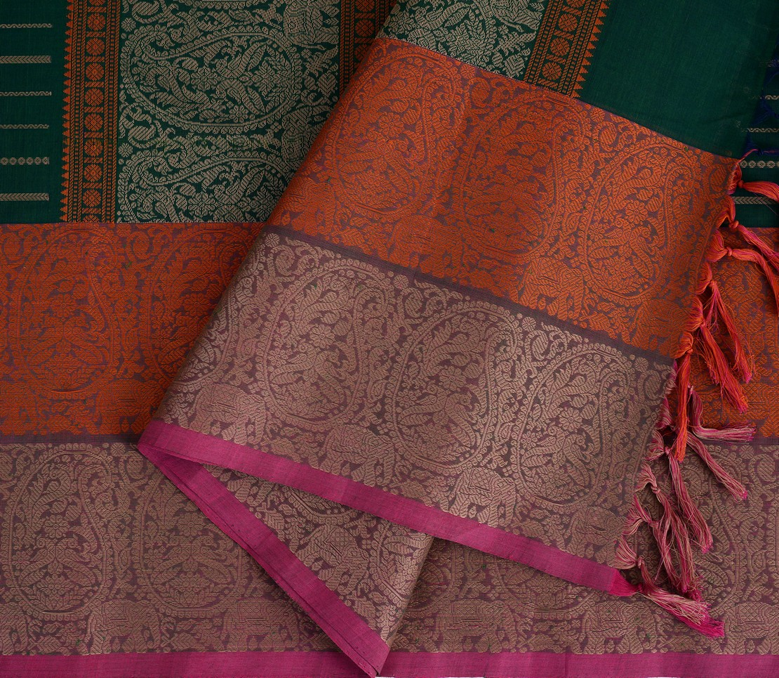 exclusive-kanchi-cotton-saree-weavemaya-Bangalore-India-Maya-green-8302001-5