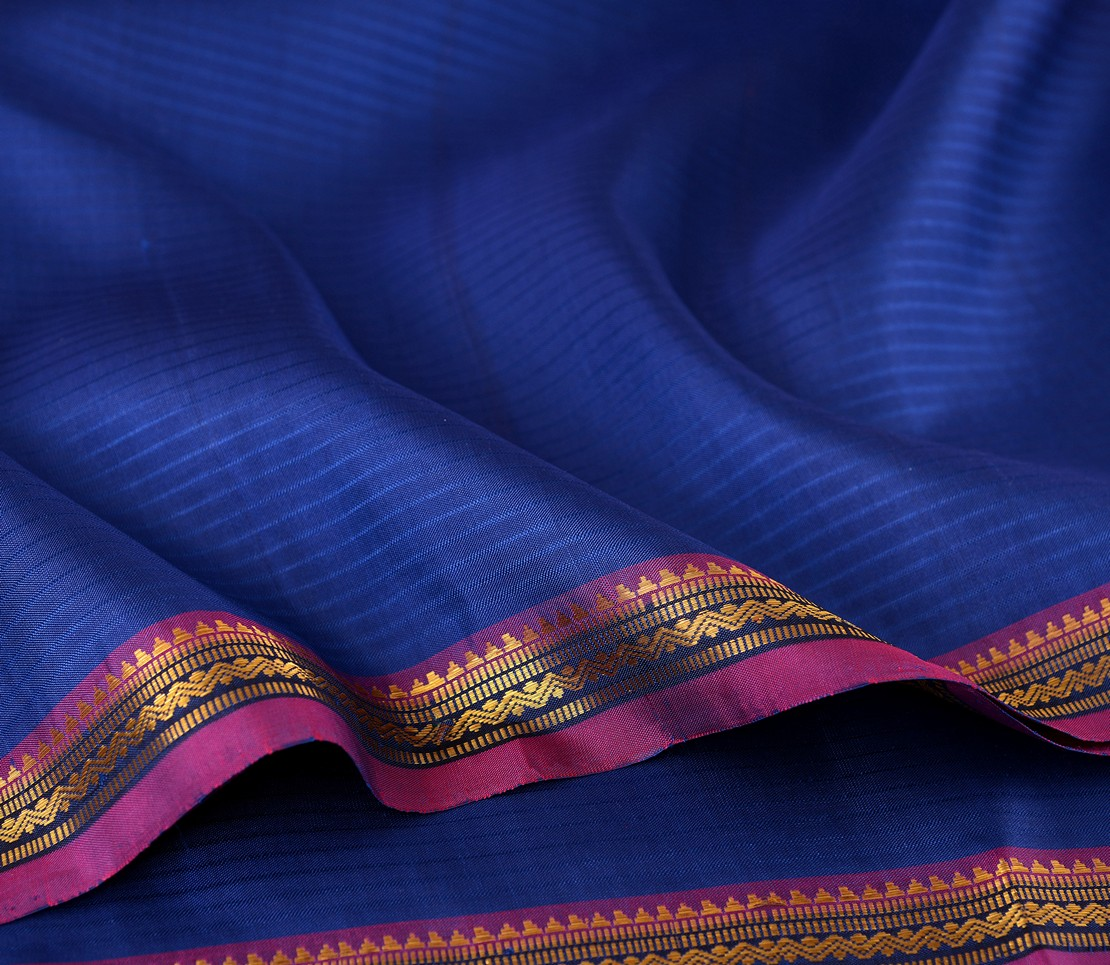 elegant-kanjivaram-silk-saree-weavemaya-Bangalore-India-Maya-sarala-royal-blue-2872001-wave