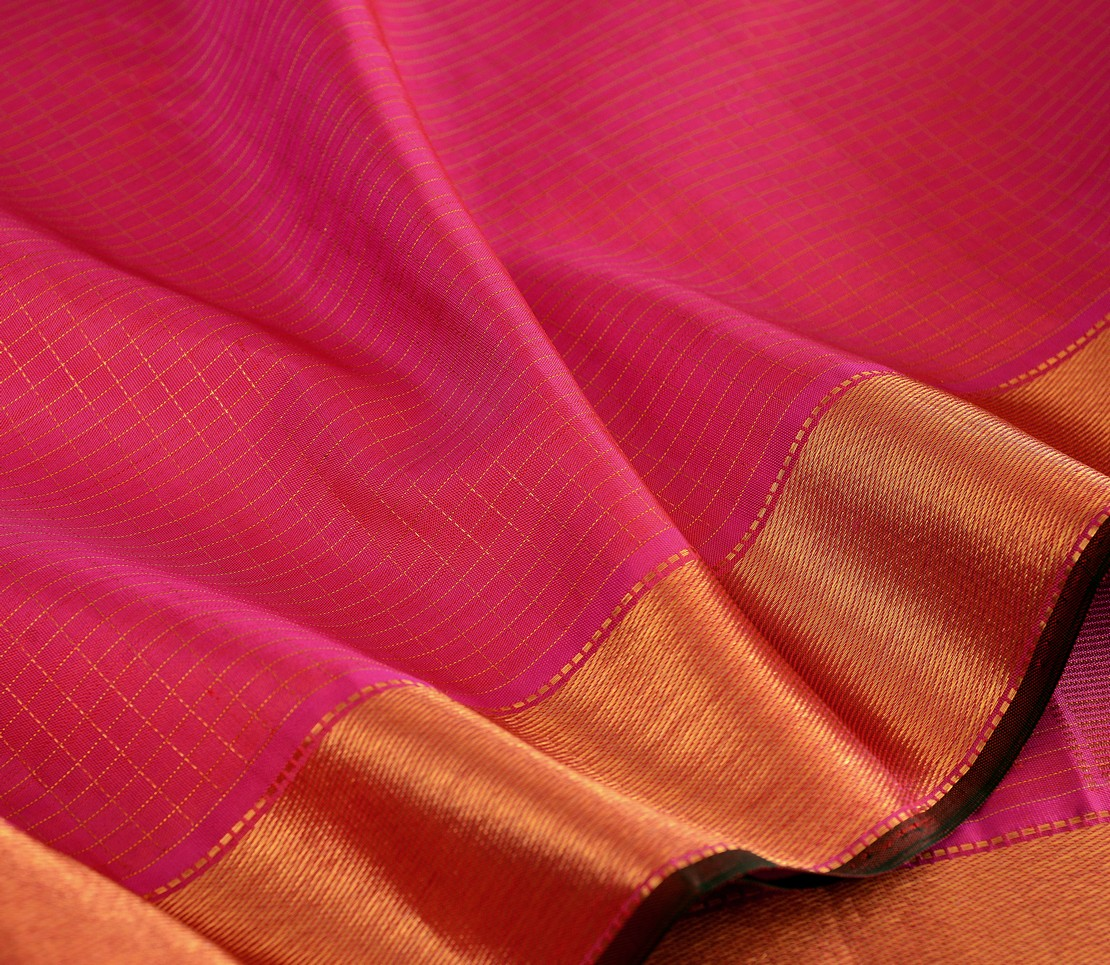 elegant-handloom-silk-saree-weavemaya-bangalore-India-Maya-pink-mutthu-kattam-4932101-wave