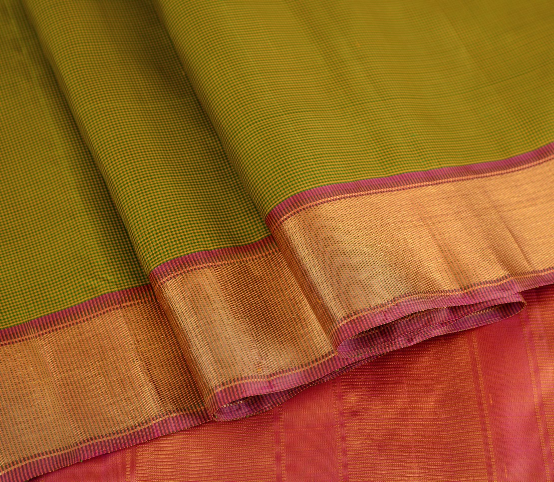 elegant-handloom-silk-saree-weavemaya-bangalore-India-Maya-yellow-green-4932104-wave