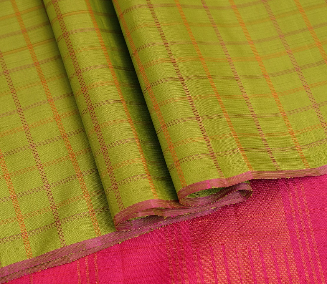 elegant-handloom-silk-saree-weavemaya-bangalore-India-Maya-parrot-green-4932105-wave