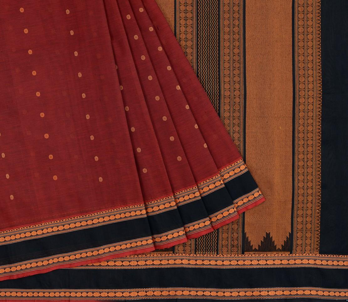 elegant-Kanchi-silkcotton-weavemaya-Bangalore-India-Maya-butta-arakku-1472107-3