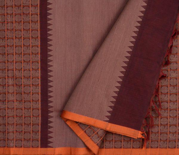 exquisite-kanchi-cotton-parutti-saree-weavemaya-Bangalore-India-Maya-half-and-half-mayil-chakram-arakku-1492103-3
