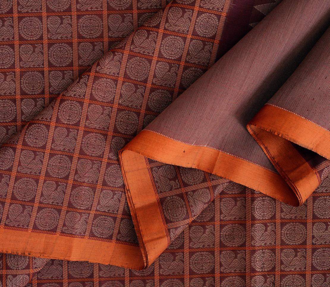 exquisite-kanchi-cotton-parutti-saree-weavemaya-Bangalore-India-Maya-half-and-half-mayil-chakram-arakku-1492103-wave