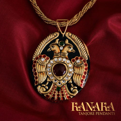 Maya-Curated-Jewellry-Tanjore-Pendants-Kanaka-Maya-WeaveMaya-Best-Kanjivarams-India