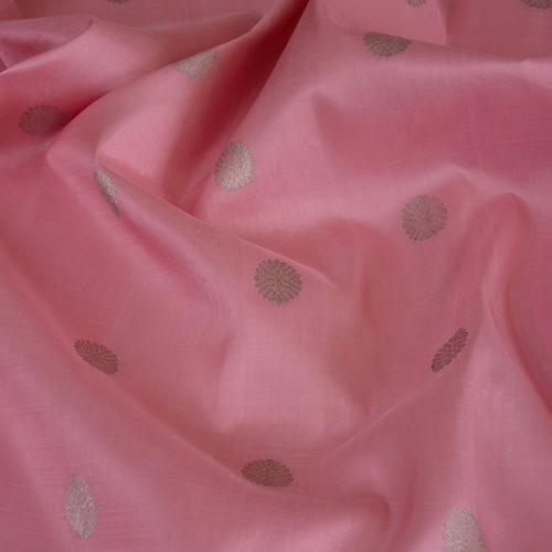 elegant-handloom-kanjivaram-silk-yardage-kamalam-butta-baby-pink-502102-3
