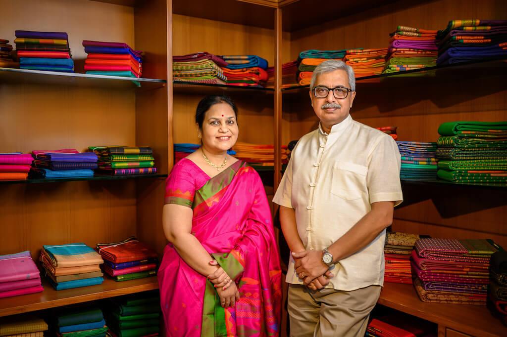 Smitha-Srinath-Rao-Founders-Maya-Weavemaya-Best-Kanjivaram-Sarees-Online