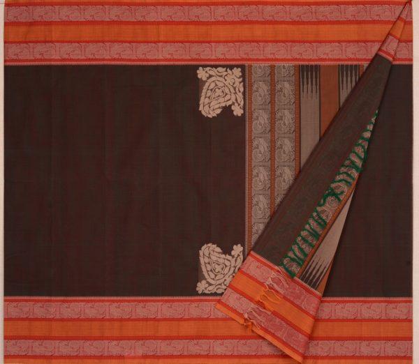 Elegant Kanchi cotton corner motif weavemaya Bangalore India Maya Manthuzir 4482167 2