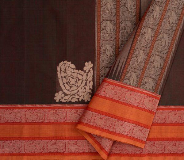 Elegant Kanchi cotton corner motif weavemaya Bangalore India Maya Manthuzir 4482167 3
