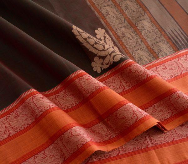 Elegant Kanchi cotton corner motif weavemaya Bangalore India Maya Manthuzir 4482167 4