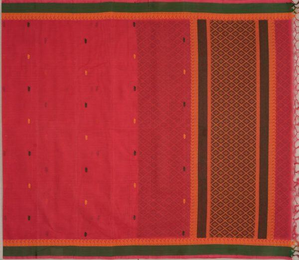Elegant Kanchi cotton design blouse weavemaya Bangalore India Maya Red 4482150 1