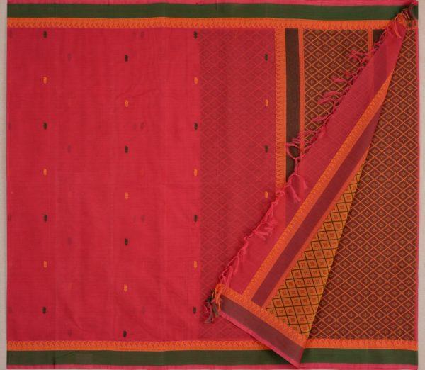 Elegant Kanchi cotton design blouse weavemaya Bangalore India Maya Red 4482150 2