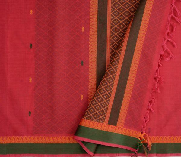 Elegant Kanchi cotton design blouse weavemaya Bangalore India Maya Red 4482150 3