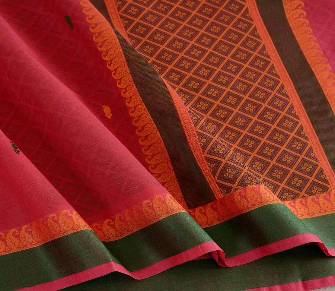 Elegant Kanchi cotton design blouse weavemaya Bangalore India Maya Red 4482150 4
