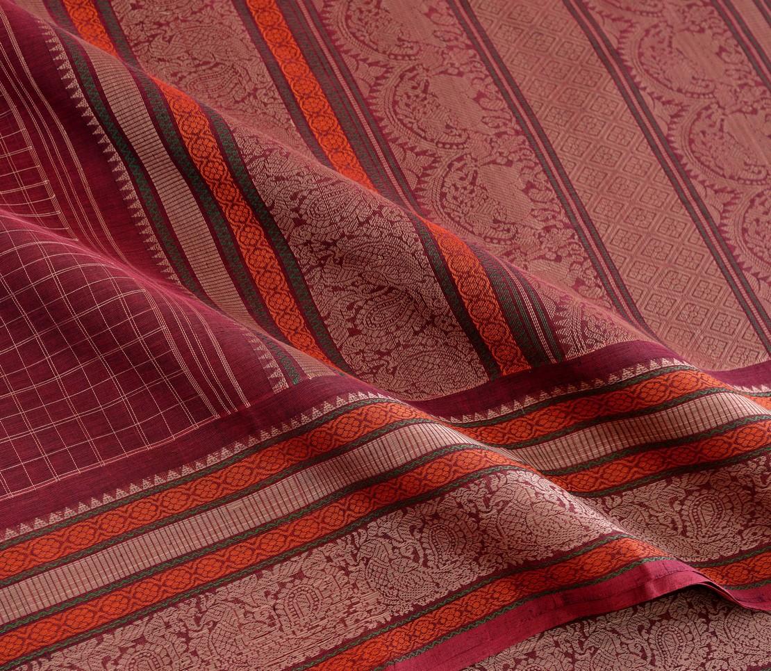 Elegant Kanchi cotton kattam weavemaya Bangalore India Maya Arakku 4482179 4