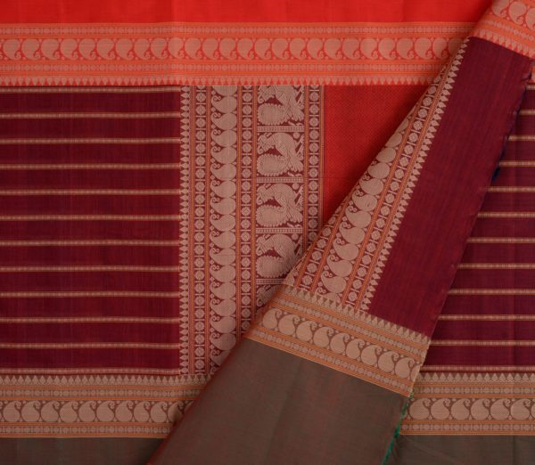 Elegant Kanchi cotton mubbhagam weavemaya Bangalore India Maya Arakku 4482157 3