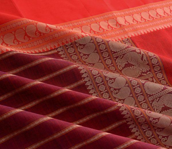 Elegant Kanchi cotton mubbhagam weavemaya Bangalore India Maya Arakku 4482157 4