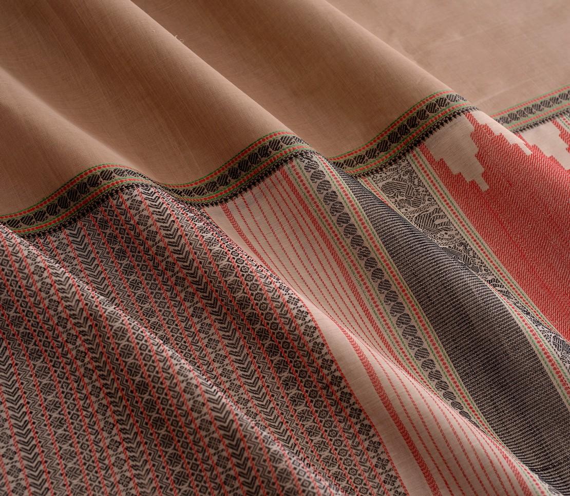 Elegant Kanchi cotton mubbhagam weavemaya Bangalore India Maya Grey 4482182 4